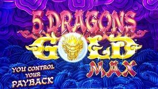 •G2E 2018• NEW 5 Dragons MAX Slot Machine PREVIEW w/NG SLOT | Global Gaming Expo 2018 LAS VEGAS