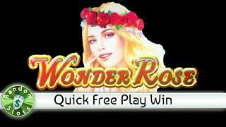 Wonder Rose slot machine, Quick Free Play