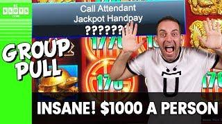 • $1000 Each? Insanity! • Group Pull @ Cosmo Las Vegas • BCSlots