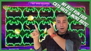 ⋆ Slots ⋆My Biggest Win on Cats Hats & Bats Slot Machine Hardrock Tampa⋆ Slots ⋆