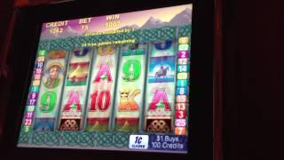 Celtic Warrior-Aristocrat Slot Machine Bonus