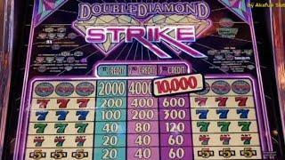 BIG WIN•BIG PROFIT•Double Diamond STRIKE - 3 Reels - Max Bet $3@ Pechanga Resort Casino