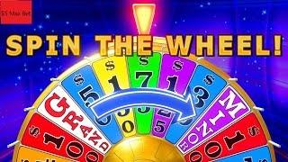 Wheel Of Fortune Slot Machine  Bonus •SPIN WHEEL• $5 Max Bet !!!! 2 Bonuses