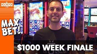• Mustang Finale + GIVEAWAY! • $1000 @ Hard Rock AC #AD • BCSlots (S. 1 • Ep. 5)