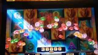 RAGING RHINO slot machine BIG RHINO WIN!