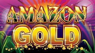 Jackpot Kingdom Amazon Gold Slot - NICE SESSION, ALL FEATURES!