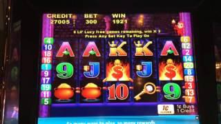 Flaming Fortunes - 'Lil Lucy Free Spins Bonus - $3 Bet. Pretty typical win for this bonus.