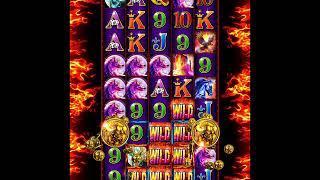 RUMBLE RUMBLE Video Slot Casino Game with a RETRIGGERED RUMBLE RUMBLE FREE SPIN BONUS