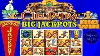 • BIG JACKPOT • CLEOPATRA HIGH LIMIT SLOT • BONUS
