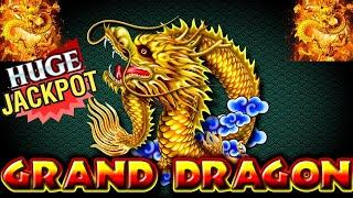 •MASSIVE• JACKPOT HANDPAY!! on HIGH LIMIT GRAND DRAGON SLOT MACHINE!