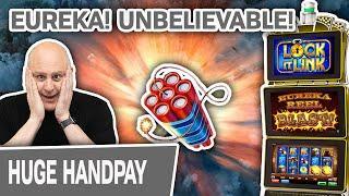 ⋆ Slots ⋆ EUREKA! Two UNBELIEVABLE High-Limit Slot Jackpots ⋆ Slots ⋆ LOCK IT LINK ACTION