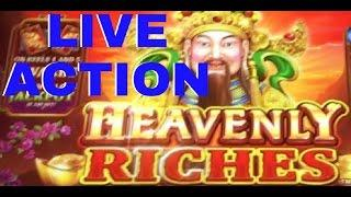 LIVE ACTION HEAVENLY RICHES SLOT MACHINE