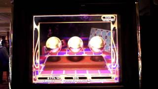 Carnival of Mystery slot machine bonus win.