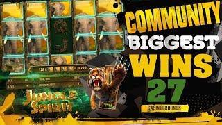 CasinoGrounds Community Biggest Wins #27