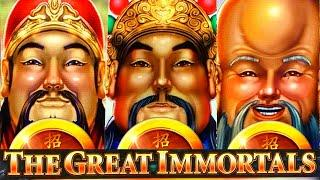 COINS! COINS! COINS!! ★ Slots ★ MONEY LINK $3.75-7.50 BETS (THE GREAT IMMORTALS) Slot Machine (SG)