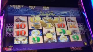 Original TimberWolf Nice Slot Machine Bonus - Aristocrat