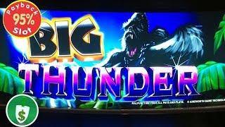 Big Thunder 95% payback slot machine, bonus