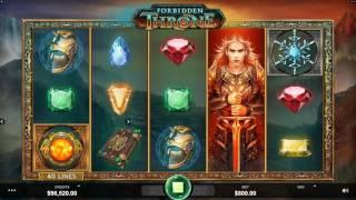 Forbidden Throne Slot Features & Game Play - by Microgaming
