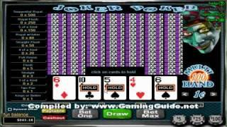 Joker Poker 100 Hand Video Poker