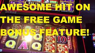 5 TREASURES WITH A FREE GAME BONUS SLAM