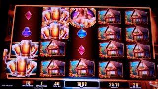 Bier Haus 200 Slot Machine Bonus - 40 Free Spins - Big Win