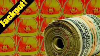 • JACKPOT HAND PAY On HIGH LIMIT Huff N' Puff Slot Machine! •