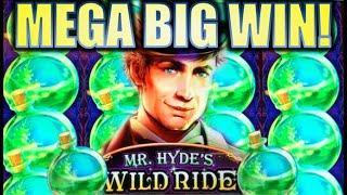 •MEGA BIG WIN!!• BOTTLES & MOONS! MR. HYDE'S WILD RIDE • Slot Machine Bonus (WMS) [REPOST]