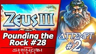 Pounding the Rock #28 - Attempt #2 at Zeus III by WMS