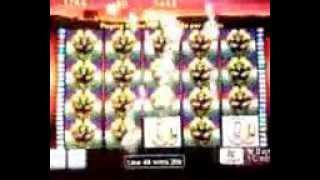 50 Lions video slot line hit ~ Aristocrat $366