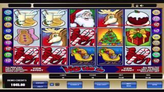 FREE Ho Ho Ho  ™ Slot Machine Game Preview By Slotozilla.com