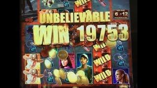 THE WALKING DEAD Slot Machine - 2x Bonus - Good Win on 2nd :-)