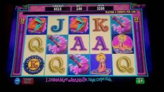 I Dream of Jeannie Traveling Wild Slot Bonus - IGT