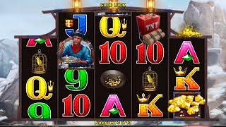 MINERS GOLD Video Slot Casino Game with a FREE SPIN BONUS