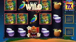 FREAKI TIKI 3 Video Slot Casino Game with a FREAKI TIKI 3 FREE SPIN BONUS