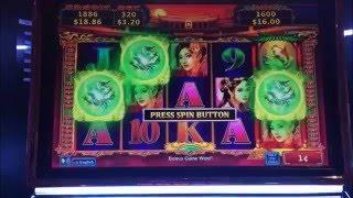*Big Win!* - Rising Fire Dragon Slot Machine Bonus