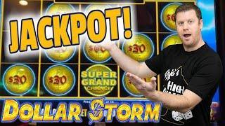 ⋆ Slots ⋆ EPIC WIN ⋆ Slots ⋆ $30 Bet Hits Super Grand Chance - Dollar Storm Emperor's Treasure Bonus