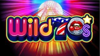 Wild 70s Slot - $8 Max Bet - NICE SESSION, ALL BONUS FEATURES!