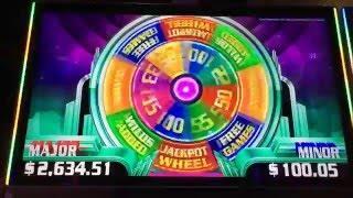 **BIG WIN/BONUSES!** Miss Liberty Super Wheel Blast (6 Videos)