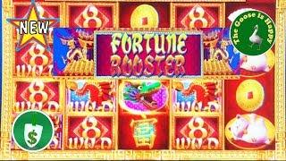 •️ NEW •  Fortune Rooster slot machine, Nice Bonus