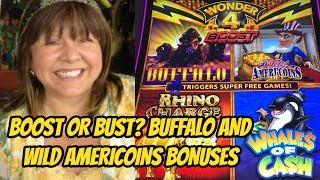 NEW WONDER 4 BOOST-BOOST OR BUST BONUSES?