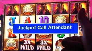 BIG JACKPOTS ON BUFFALO / MUSTANG ★ Slots ★ HIGH LIMIT HANDPAYS!  ★ Slots ★ 3x MULTIPLIERS!