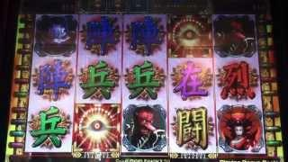 Shinobi Slot Machine Bonus Over 100X  Three Cent Denomination