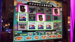 """VGt Slots """"The Hunt For Neptune's Gold"""" 98 $50 Spins. Choctaw Gambling Casino. Durant, OK Red Spins"""