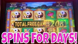 SPINS FOR DAYS!  China Shores Double Winnings SUPER BIG WIN!