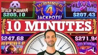 • WonderFULL Jackpots for 1⃣0⃣ Minutes! • Slot Machine Pokies w Brian Christopher