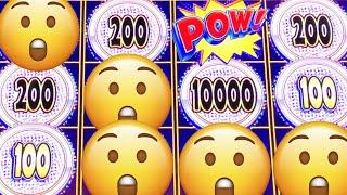 IT'S A SECRET? • POW!! SECRET POWER SYMBOLS (KONAMI) Slot Machine Bonus Win