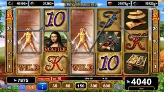 Genius of Leonardo slot - 4,850 win!