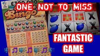 •Fantastic Video•...•Fantastic Game•...Scratchcard George.•...•One to Watch....mmmmmmMMM •
