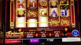 Prosperity Dragon Slot Machine -- Max Bet Bonuses -- Ainsworth