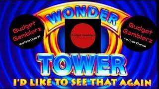 BUFFALO GOLD & WONDER 4 TOWER ~ Saved by the Buffaloes!!  Live Slot Play @ San Manuel
